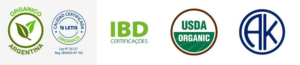 Certificaciones Brotes de Traslasierra